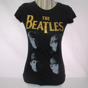 The Beatles Womens Size S fitted Graphic T-Shirt
